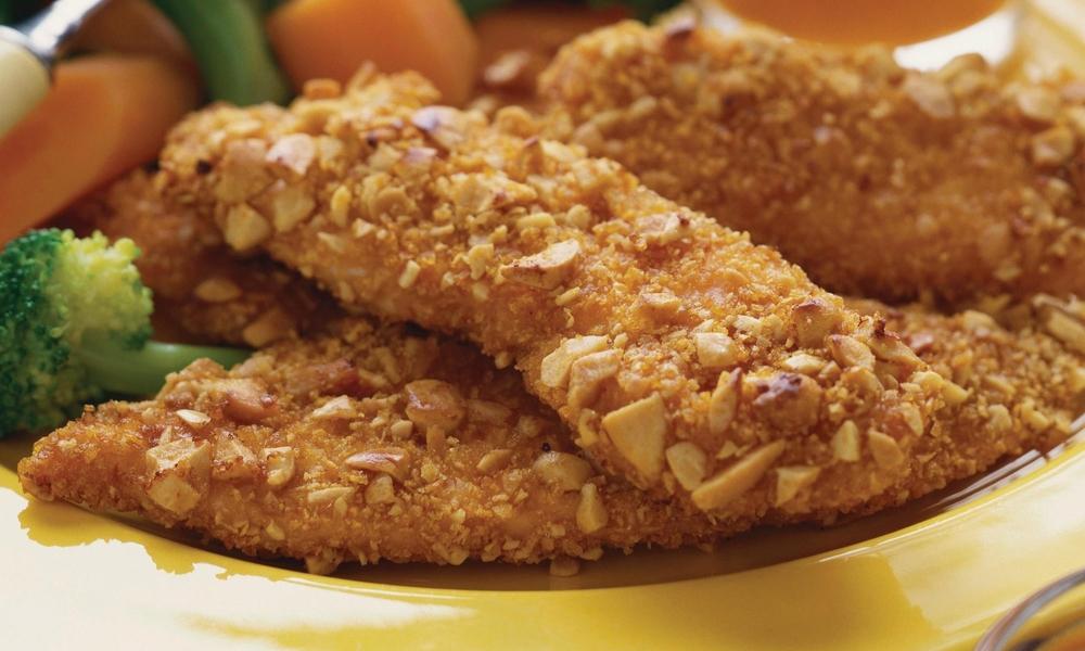almond crusted turkey cutlets