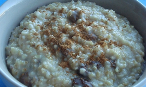 honry spiced oatmeal