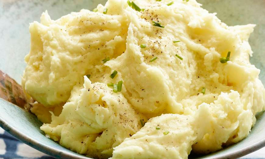 mashed parsnips