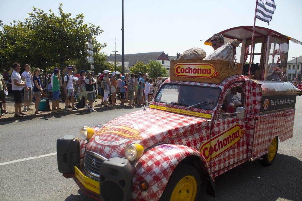 Caravane, Tour de France