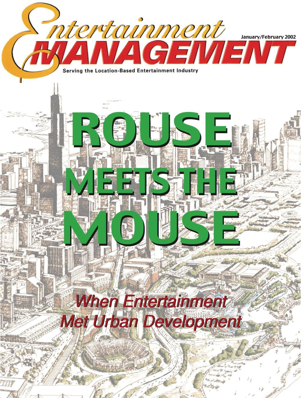Click article above to view PDF of article In the fall of 1985, nearly a decade before the Urban Land Institute and International Council of Shopping Centers turned urban entertainment development symposiums into a small industry, The Walt Disney Company and Jim Rouse's Enterprise Development Company formed a joint venture to define and develop a new genre of destination.