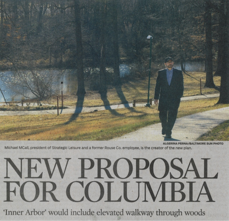 """McCall invokes Rouse in design for Symphony Woods Park"" Baltimore Sun, March 13, 2013   Click above to download article"