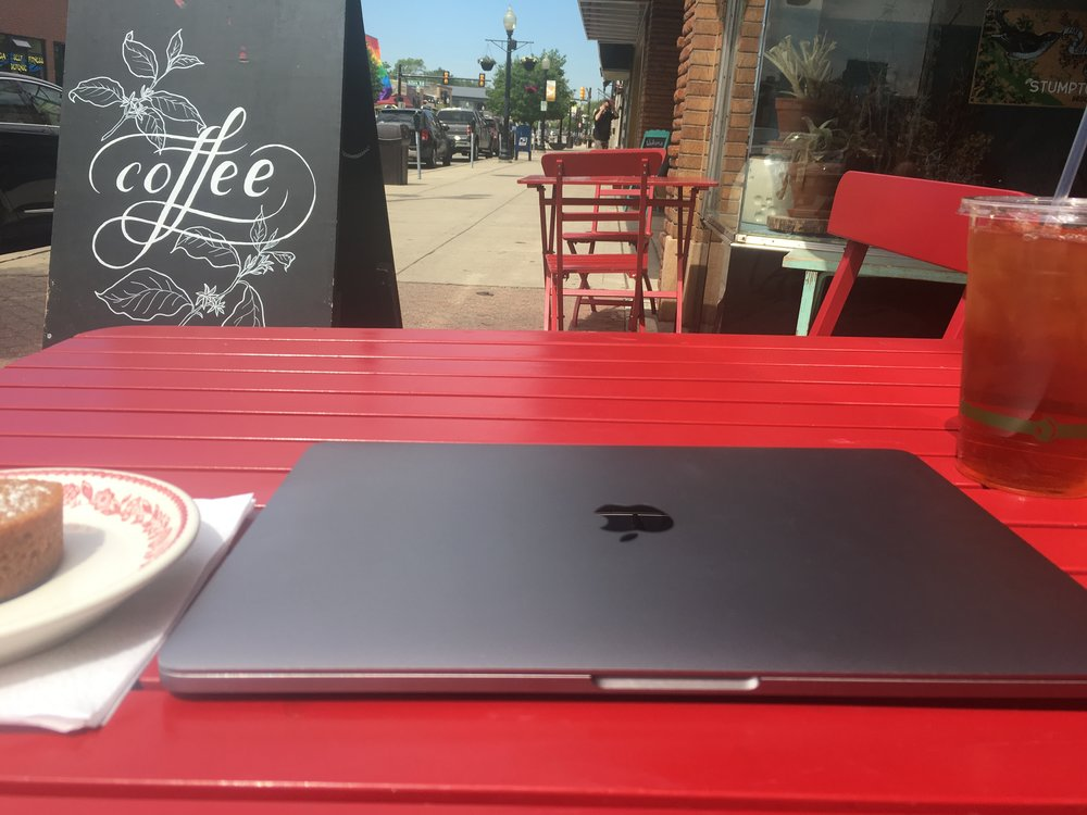 A favorite coffee shop can be a great getaway from your usual office setting.