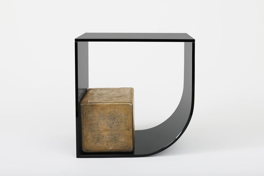 Wonderful UNSETTLED BLOCK TABLE — BRIAN THOREEN ER94