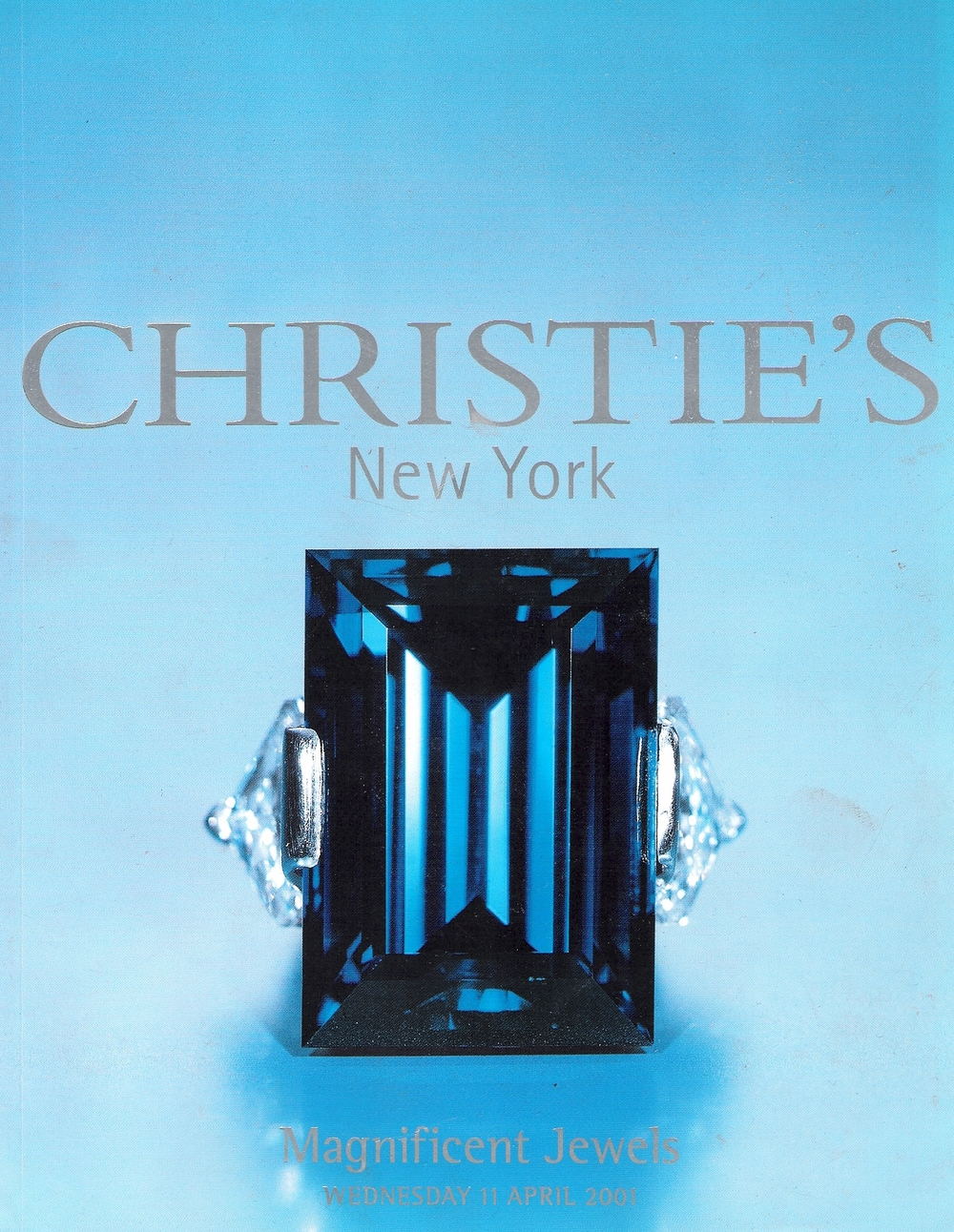 Mr. Rockefeller's Sapphire  / photo © Christies