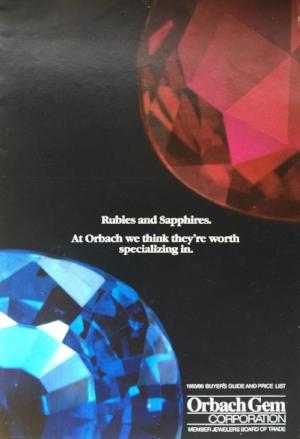 1985 Orbach Gem catalog