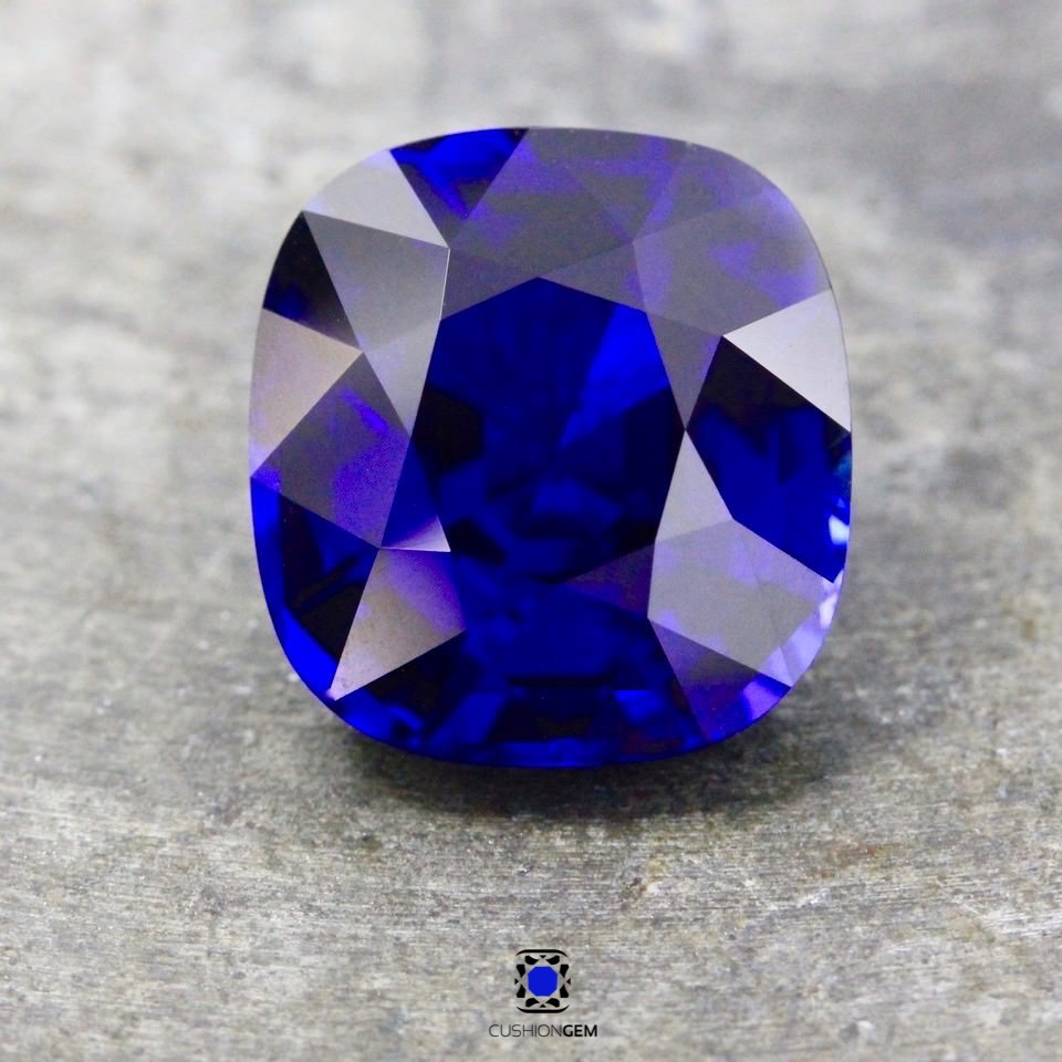 9.89 Cushion Un-heated Classic Madagascar Sapphire