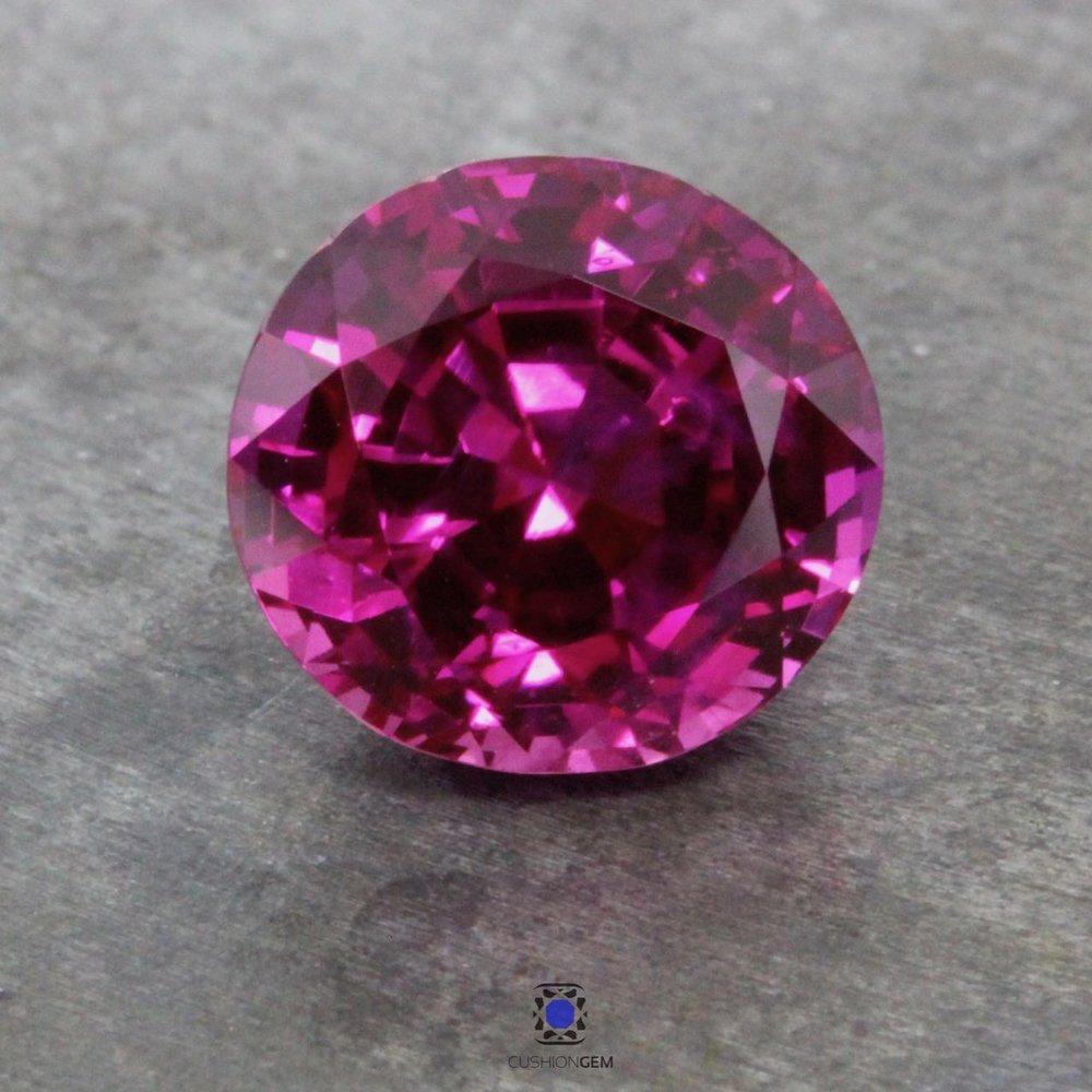 4.20 Roundish Oval Un-heated Burma Pink Sapphire