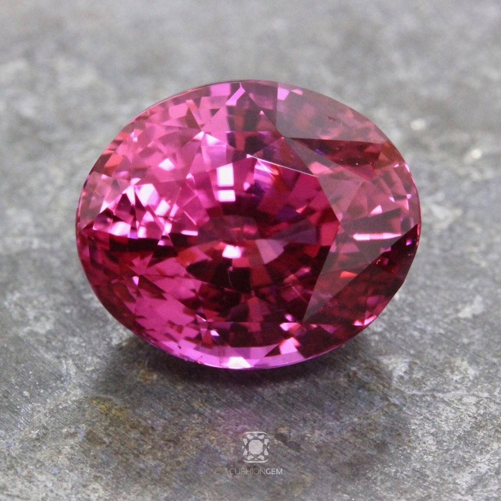 10.03 Oval Pink Sapphire