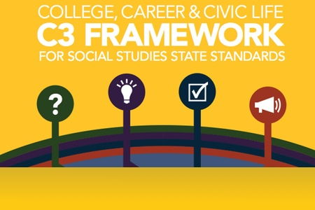 The C3 Framework is an instructional framework NOT a new curriculum. It enhances classroom instruction, builds on students' critical thinking skills, and aligns to the Common Core and our State standards.