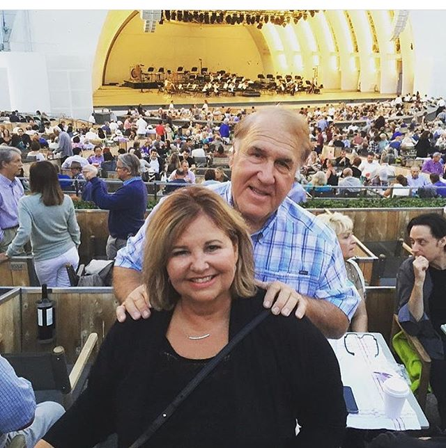 My parents are so great! #Regram of @antiquedeak & #PadwinaMayhew at the #HollywoodBowl. I can't wait to see them this weekend in #SF! ✨🙌🏾🎼