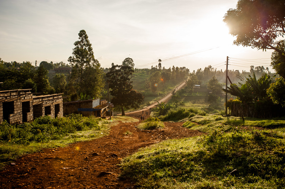 Sunrise, Kianyaga, Kenya on December 4, 2014. Photo: Art Zaratsyan for Photographers Without Borders