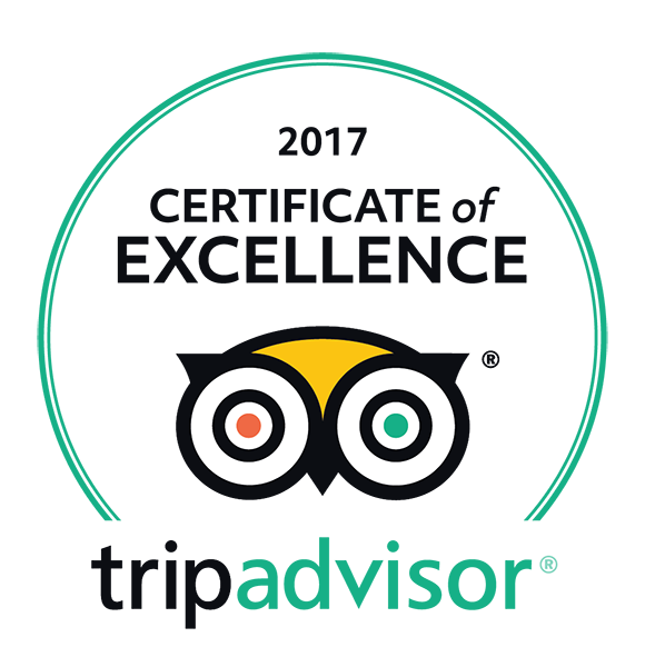 Tripadvisor Certificate of Excellence 2017 Platypus.png