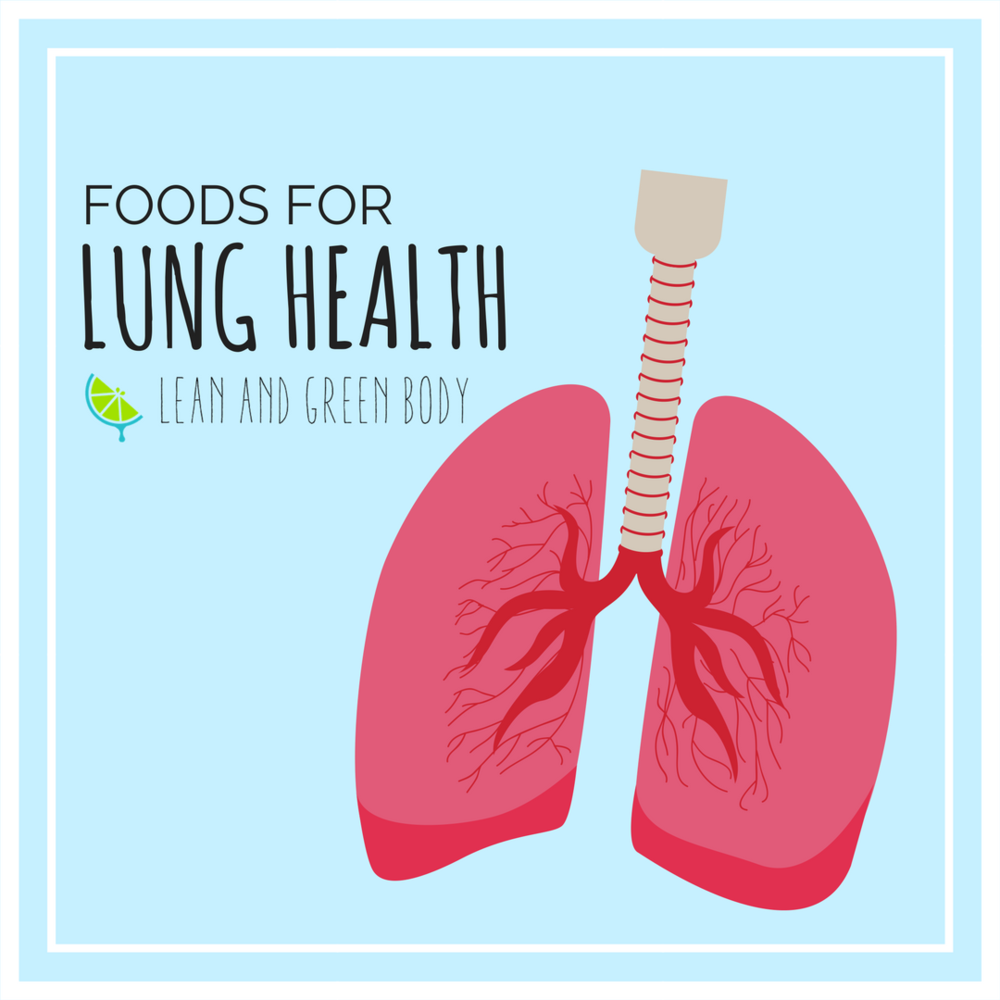 Foods for Lung Health | Lean and Green Body Blog