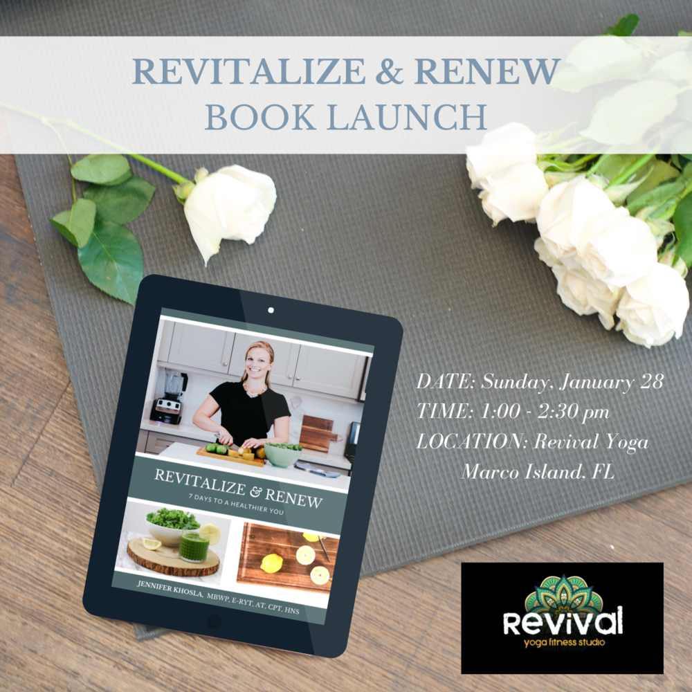 Book Launch - Revival Yoga Marco Island