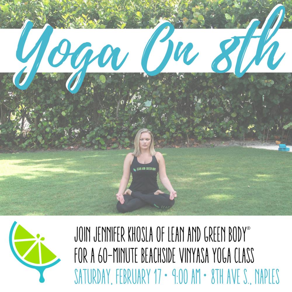 Yoga On 8th [FREE COMMUNITY EVENT]