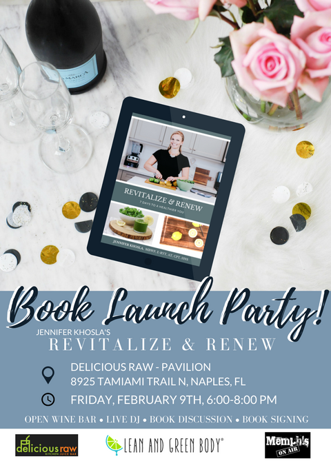 Revitalize & Renew Book Launch Party! | Lean and Green Body® Events