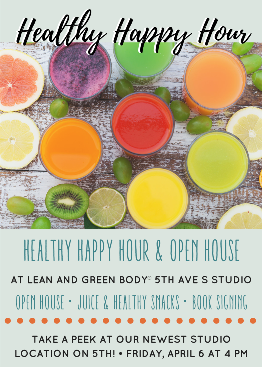 Healthy Happy Hour | Lean and Green Body®