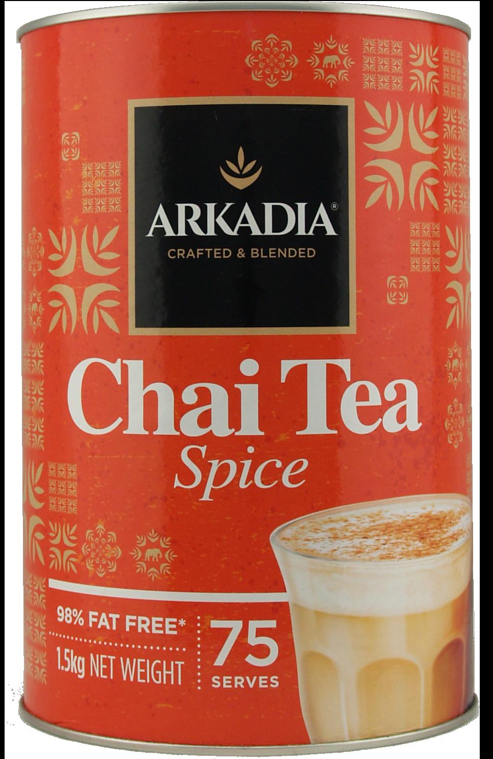 Arkadia Spiced Chai 1.5Kg Tin