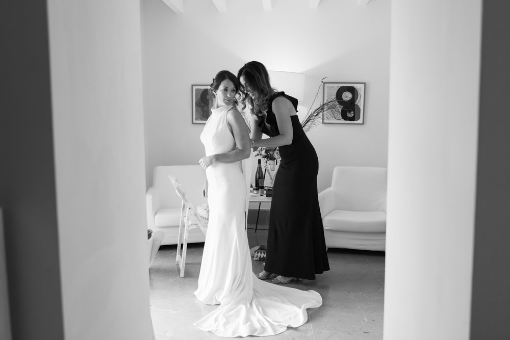 Bridal Prep at Son Simo Vell Mallorca