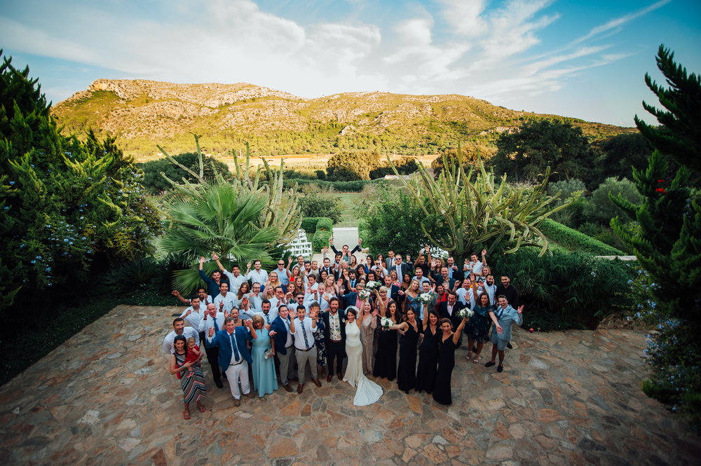 Wedding Guests Son Simo Vell Mallorca