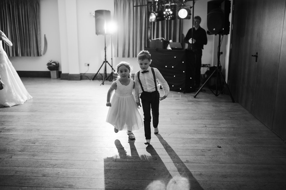 Cute picture of Bridesmaid and Pageboy
