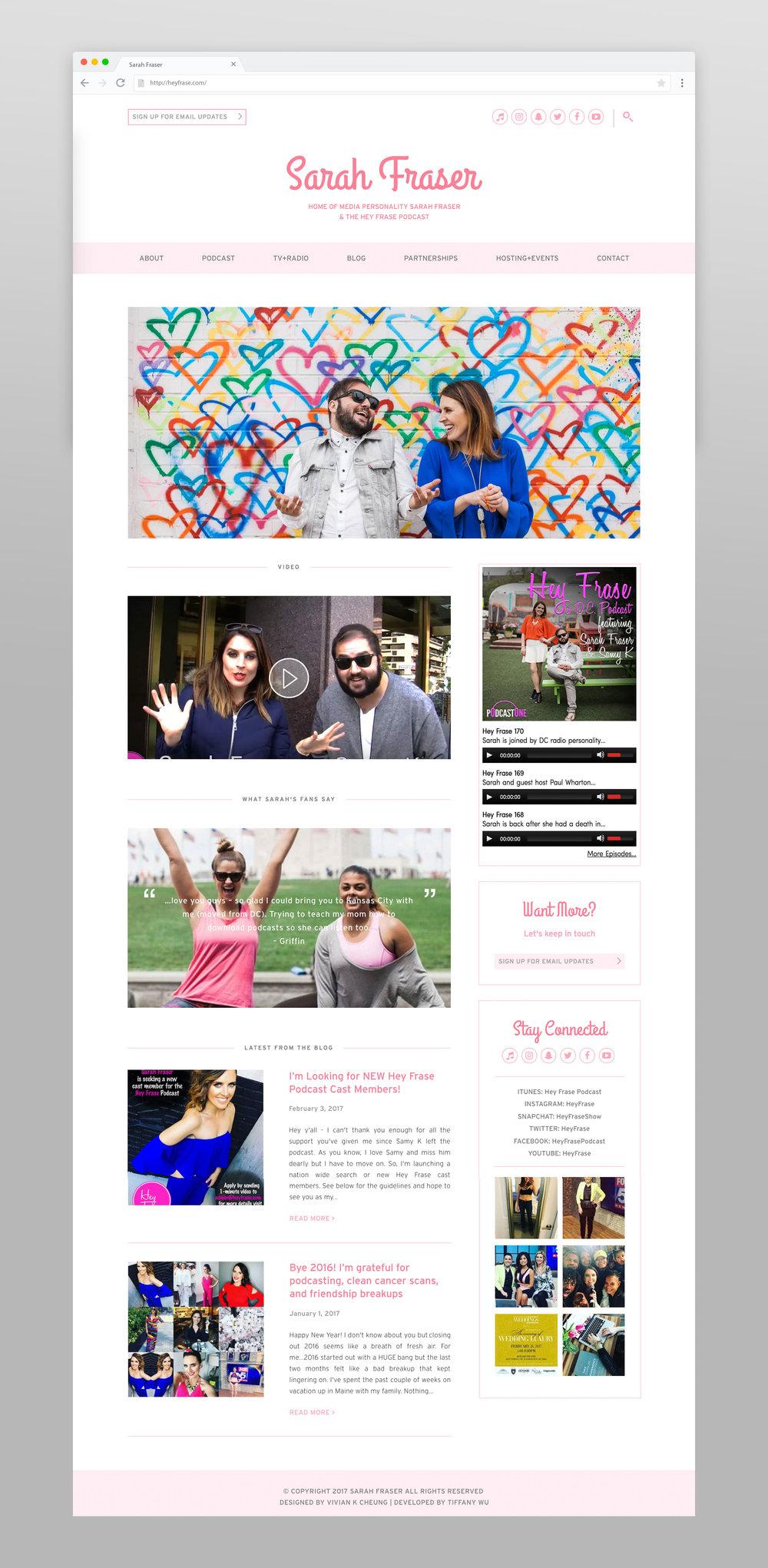 Hey Frase Homepage