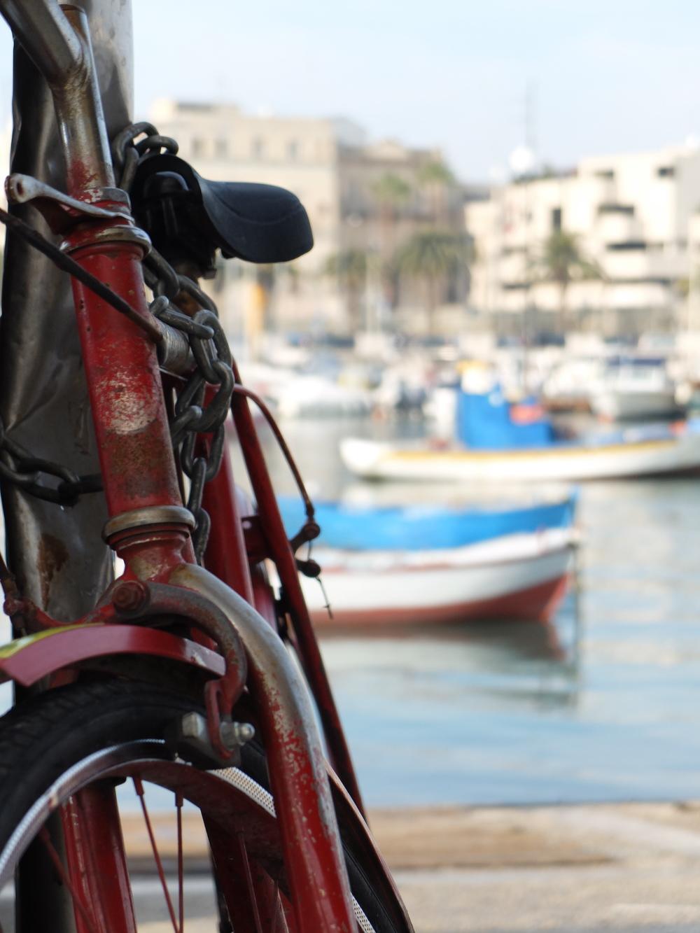 Bicycle, Bari, Italy