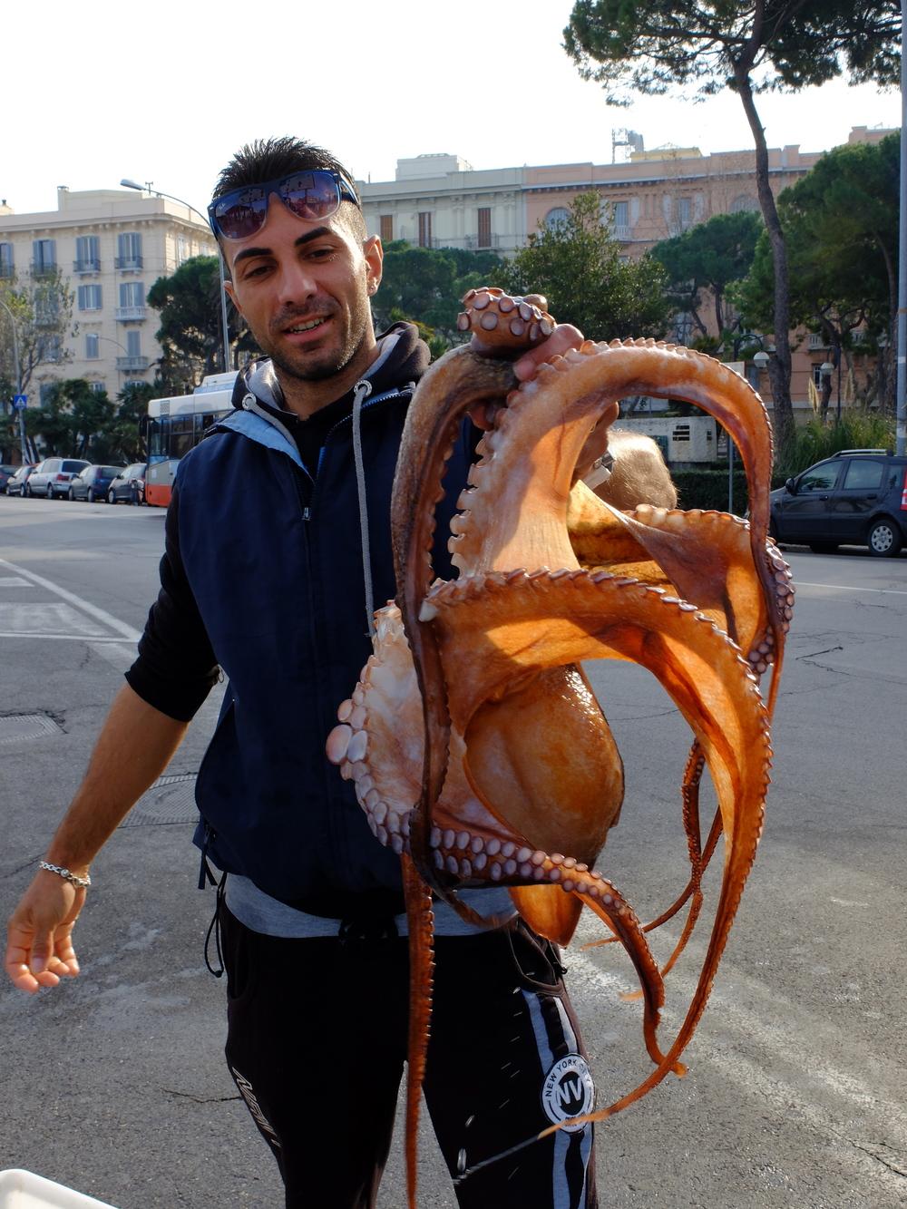 Big catch, Bari