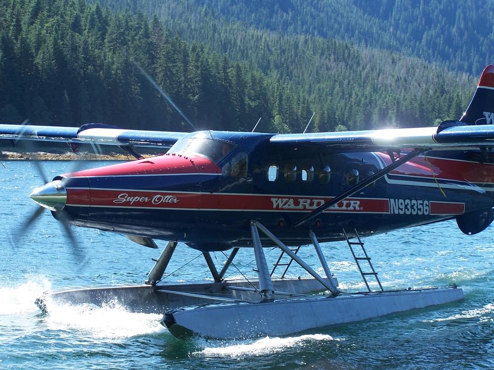 Float Plane, Poison Cove, Alaska