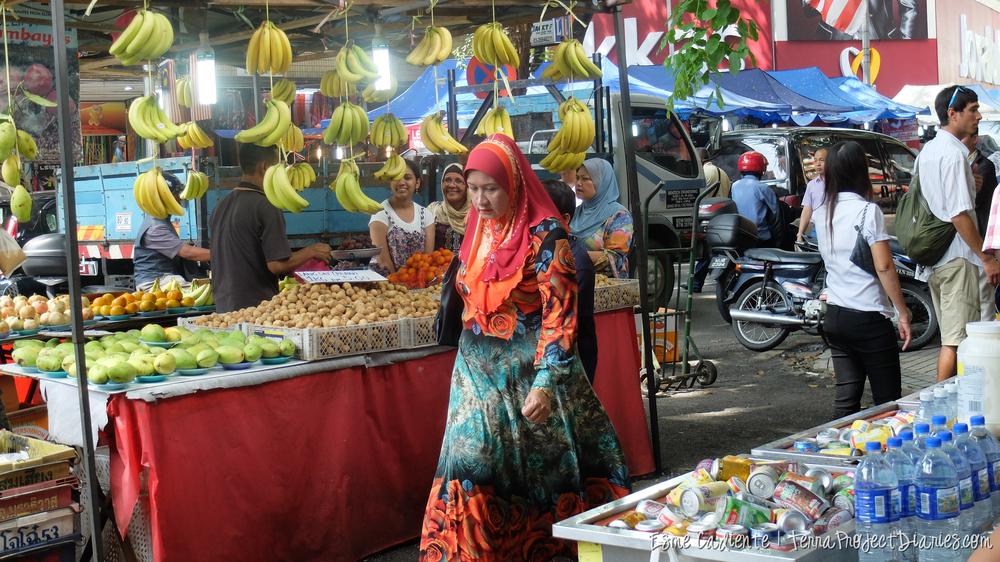 Busy street, Kulala Lumpur, Malaysia