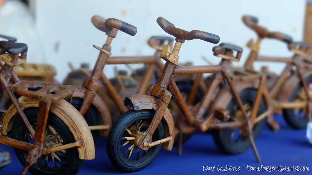 Intricate bicycles made by a Sri Lankan man