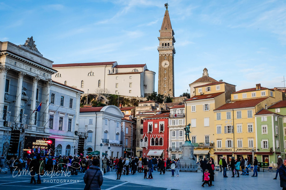 Piran on New Years Eve