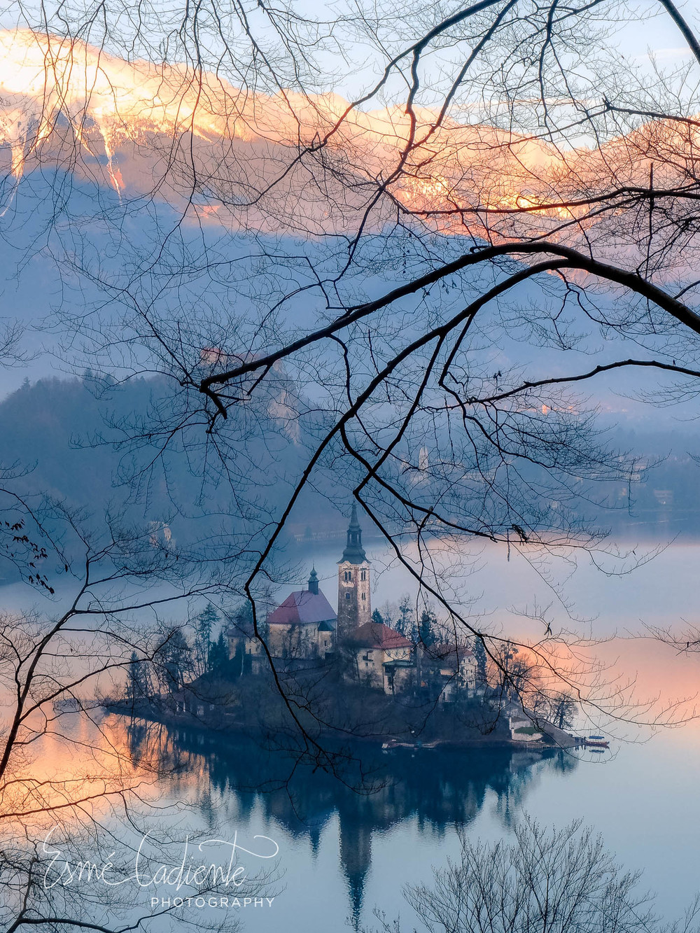 According to legend, an ancient temple of a Slavic goddess once stood in the place of this mystical church that lies in present-day Lake Bled, draped by the Julien Alps.