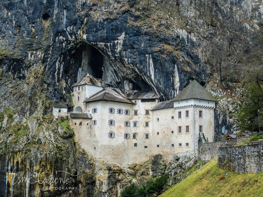 The century-old Renaissance style Predjama Castle. One of the most unique castles in the world.