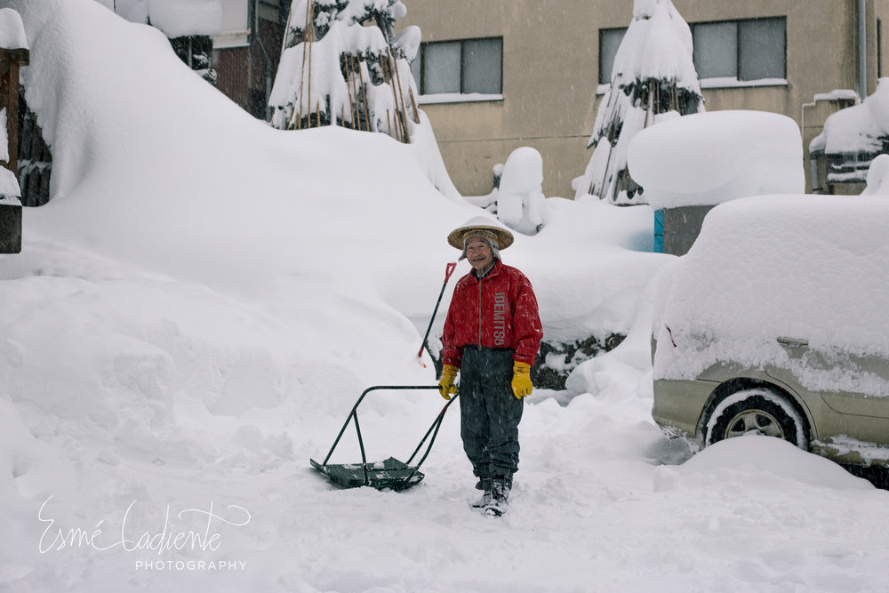 Shoveling and snow removal duties never stop during the month of January.