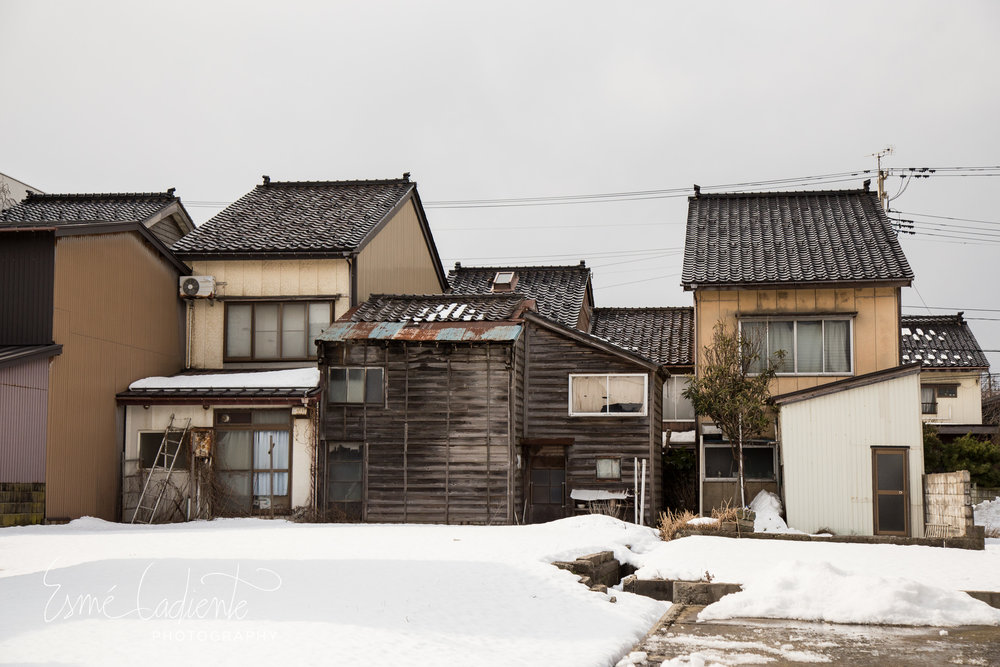 Joetsu houses