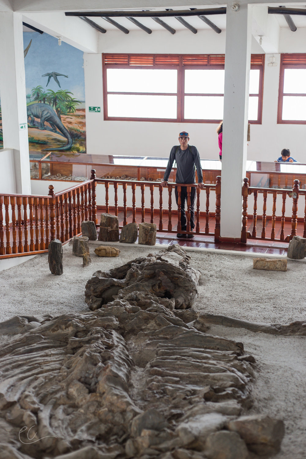 Villa De Leyva is known for its many fossils.