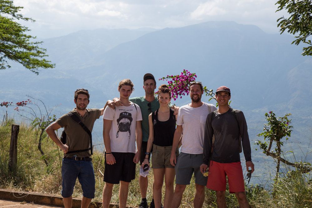 Our lively group from the USA, Australia, Netherlands and Sweden for the El Camino Real hike.