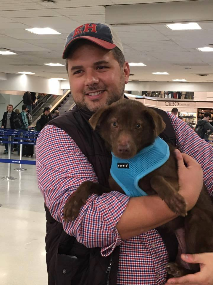 On November 8, Phoenix flew to NYC and was met by her loving new dad, Kyle!