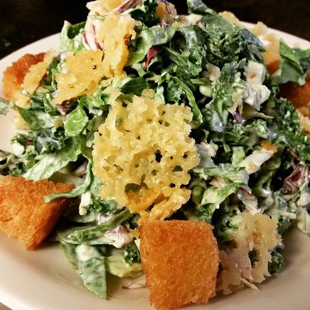 When it's hot out, sometimes you need a nice #caesarsalad #localasheck #Durham #duke #summer