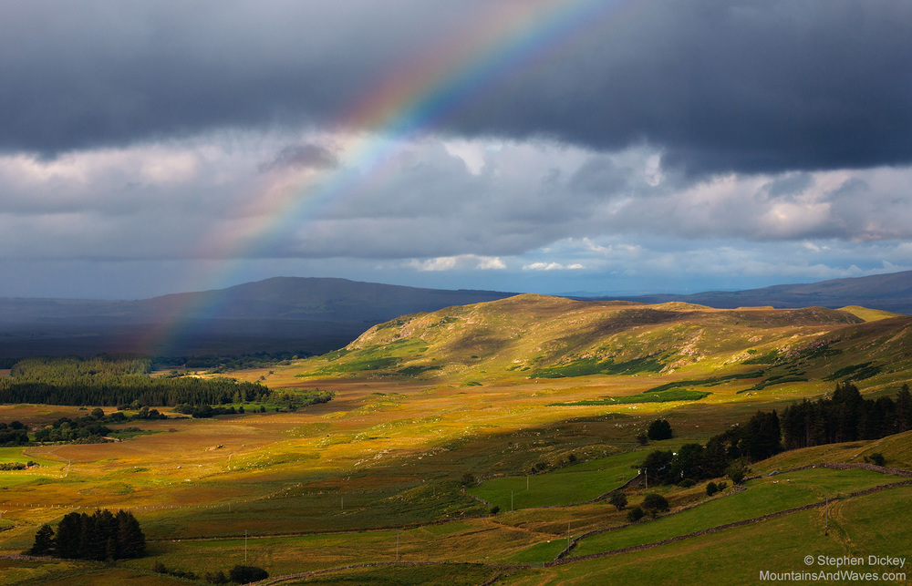 Mountain Rainbow, County Mayo, Ireland