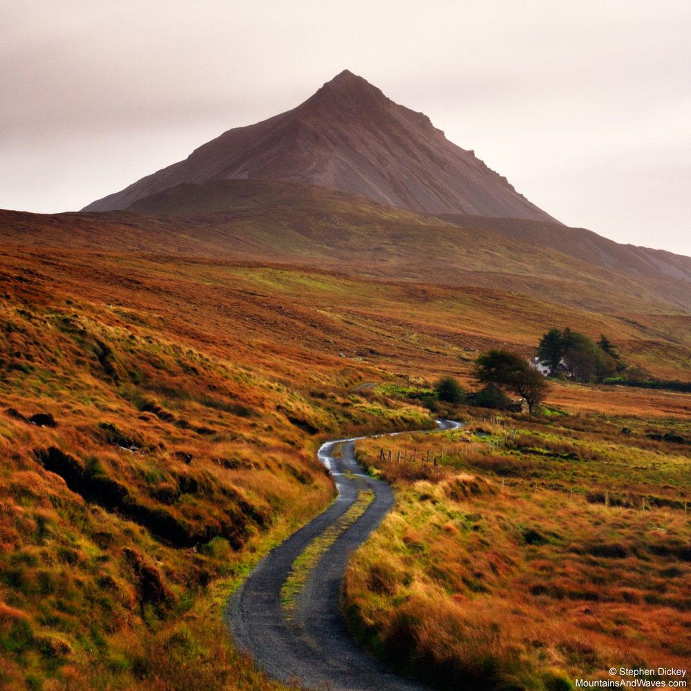 Mount Errigal, County Donegal, Ireland
