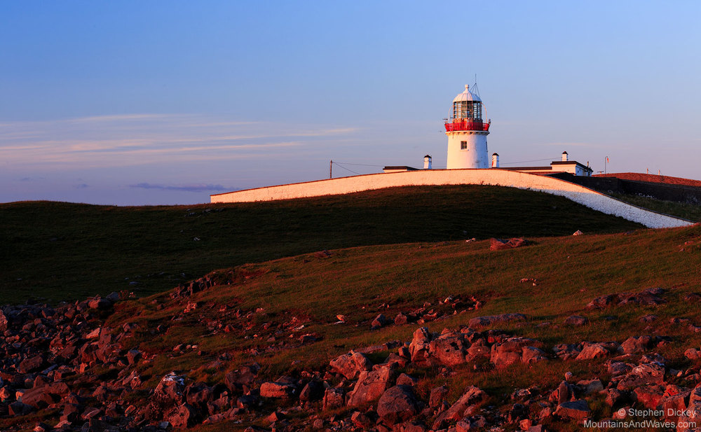 St. John's Point Lighthouse, County Donegal, Ireland
