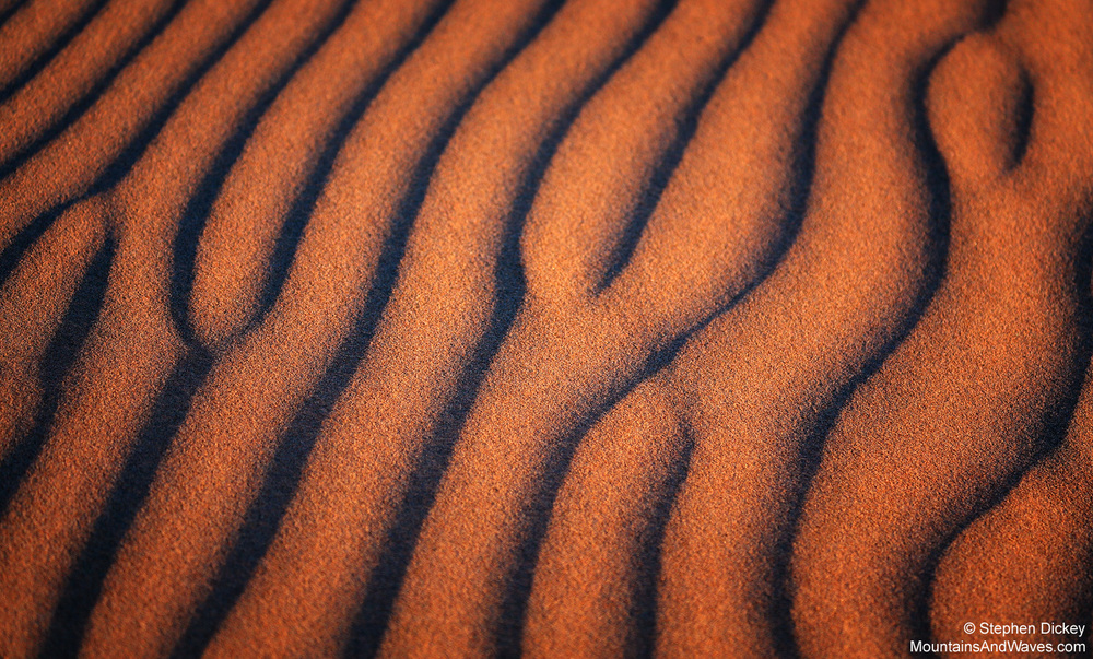 Sand Patterns, Portstewart Strand, County Londonderry, Northern Ireland
