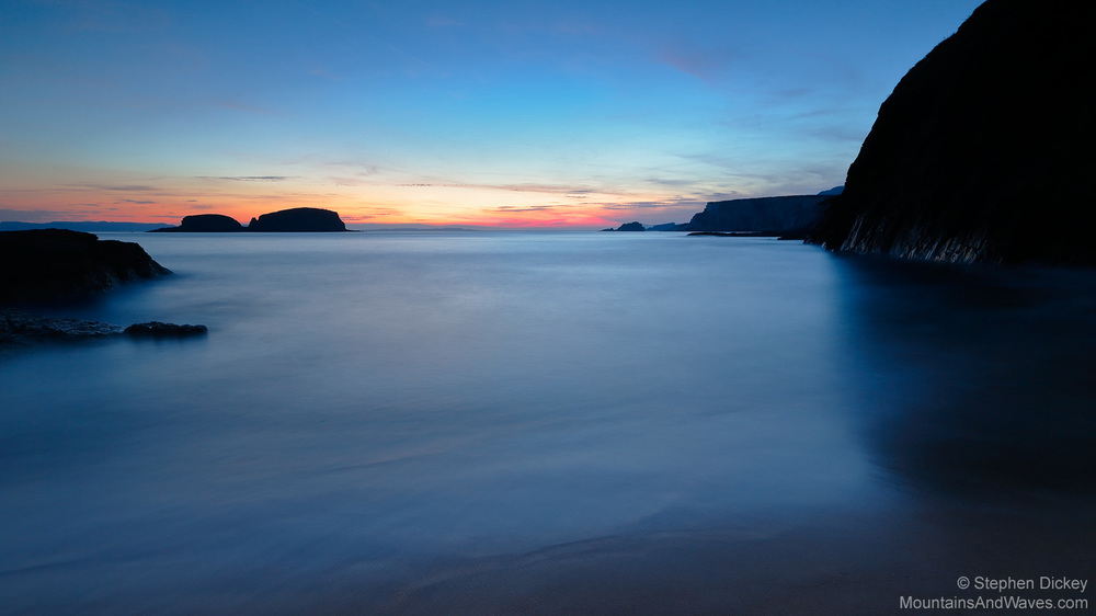 Ballintoy Dawn, County Antrim, Northern Ireland