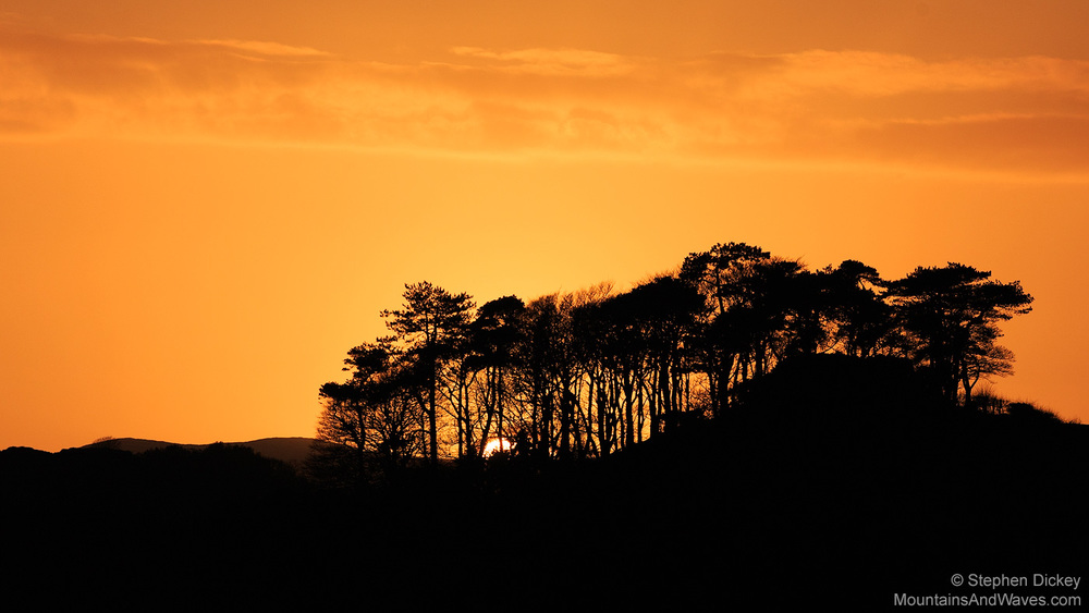 Mourne Sunset, County Down