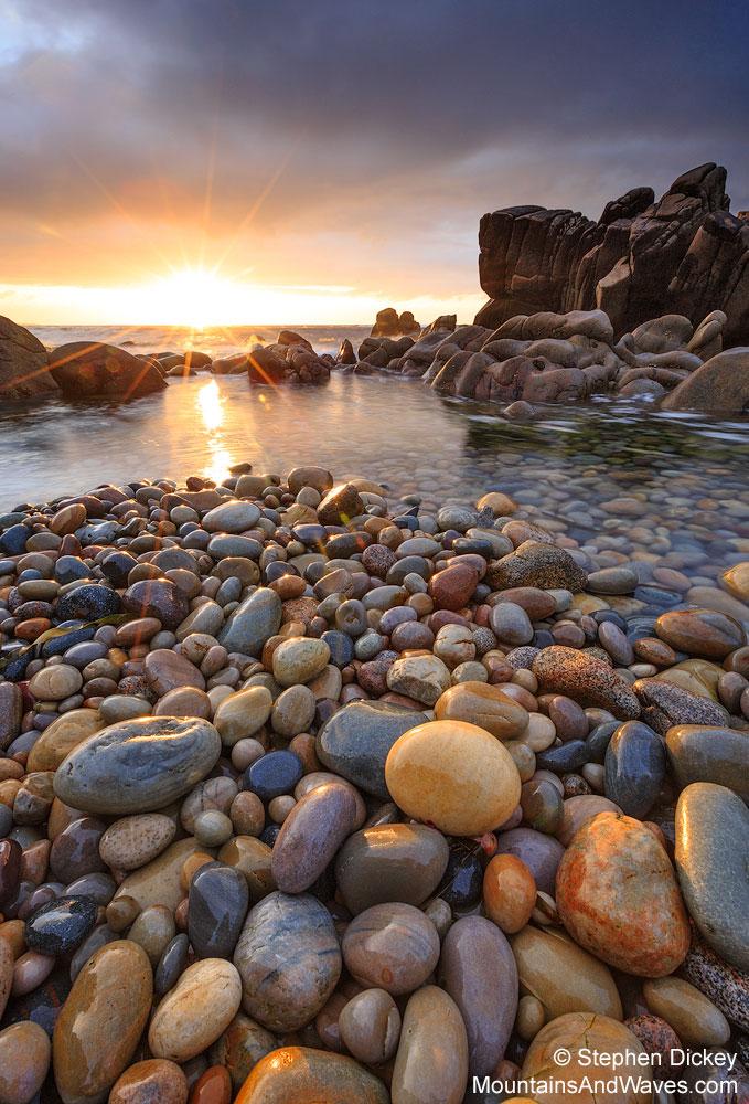 Urris Sunburst, County Donegal, Ireland