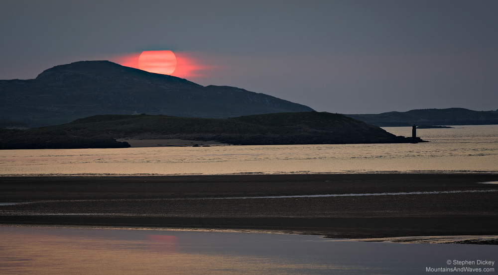 Pink Sunset, Bunbeg, County Donegal, Ireland