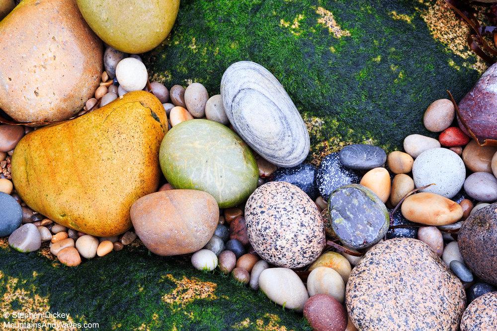Urris Pebbles, County Donegal, Ireland